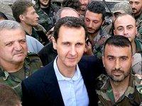Esad Doğu Guta'daki cephe hattına gitti
