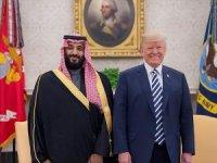 Trump, Suudi Veliaht Prens Selman ile görüştü