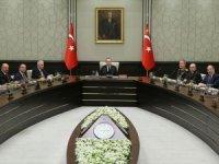 MGK Erdoğan başkanlığında toplandı