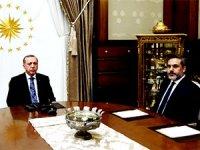 Erdoğan, MİT Müsteşarı Hakan Fidan ile görüştü