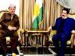 Barzani'den Kosret Resul'a geçmiş olsun ziyareti