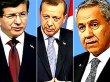 Erdoğan, Davutoğlu ve Arınç ile görüşecek!